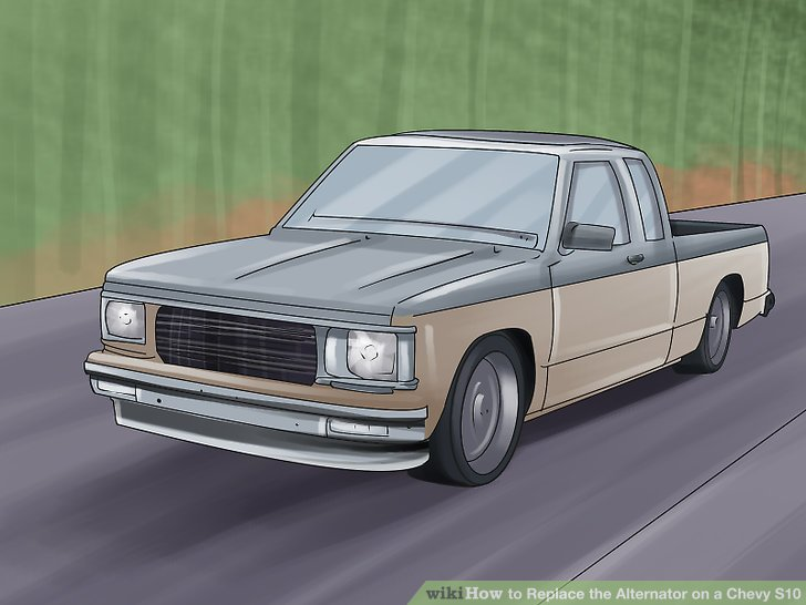 How to Replace the Alternator on a Chevy S10 (with Pictures)