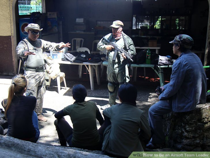 How to Be an Airsoft Team Leader 12 Steps (with Pictures)