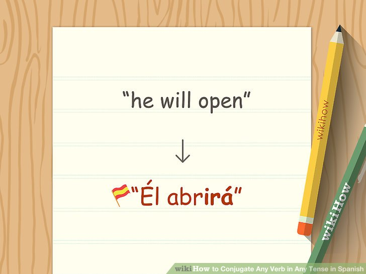 4 Ways to Conjugate Any Verb in Any Tense in Spanish - wikiHow