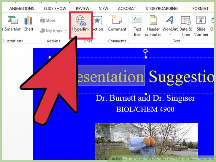 How to Hide a Slide in PowerPoint Presentation 9 Steps - Powerpoint Presentation