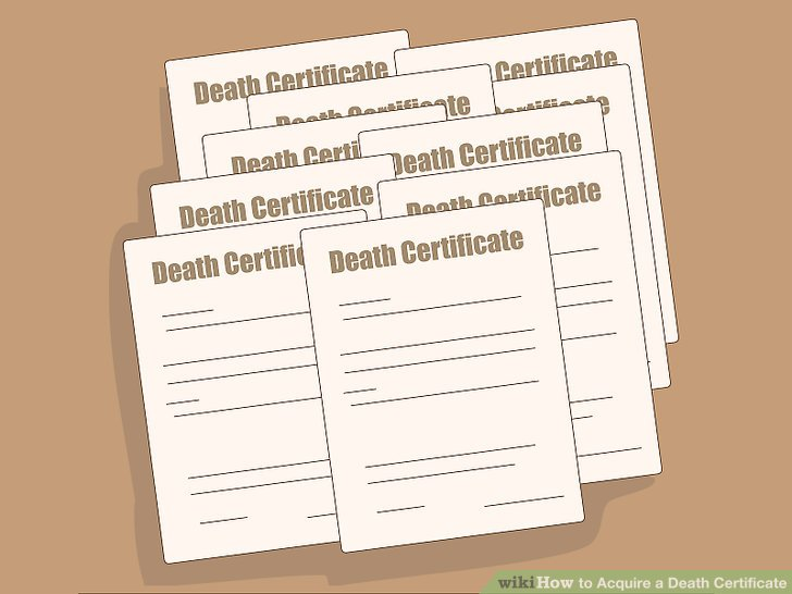 How to Acquire a Death Certificate 10 Steps (with Pictures)