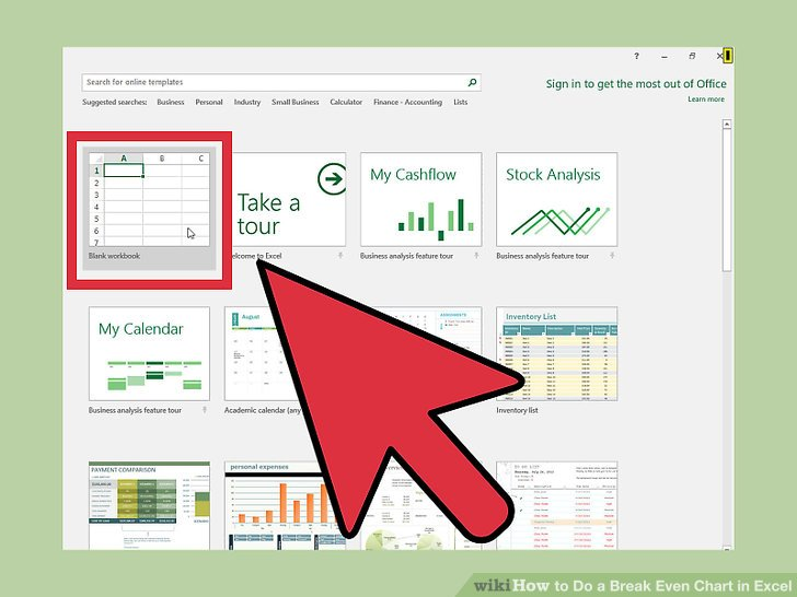 How to Do a Break Even Chart in Excel (with Pictures) - wikiHow - excel break even analysis