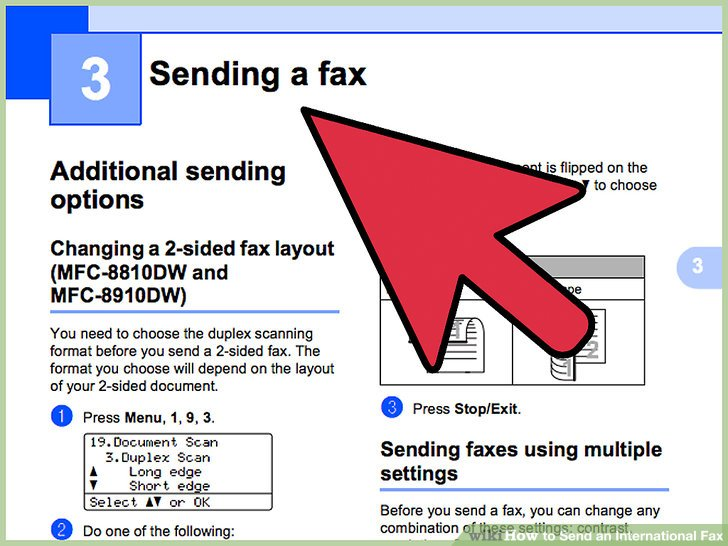 How to Send an International Fax 7 Steps (with Pictures) - fax document