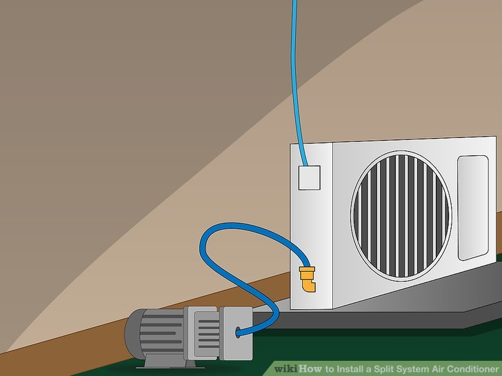 How to Install a Split System Air Conditioner 14 Steps