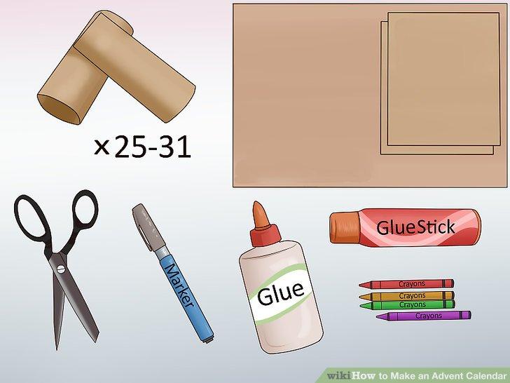 3 Ways to Make an Advent Calendar - wikiHow