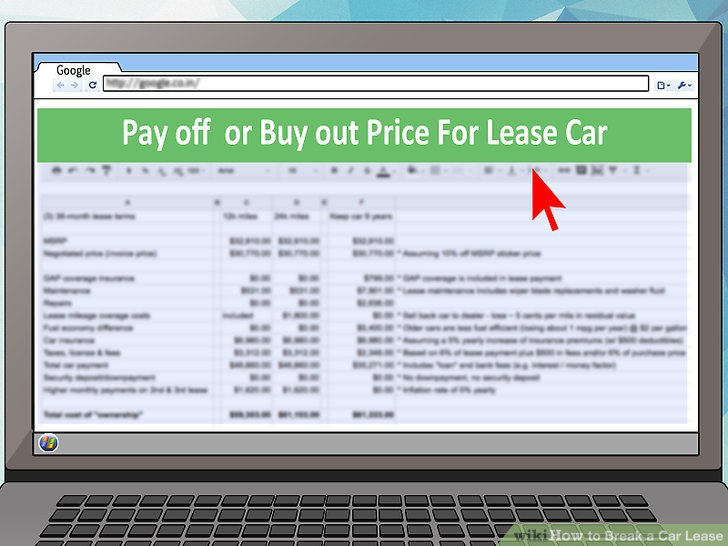3 Ways to Break a Car Lease - wikiHow