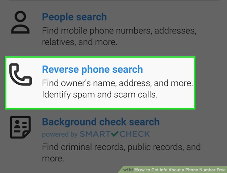 4 Easy Ways to Get Info About a Phone Number Free - wikiHow