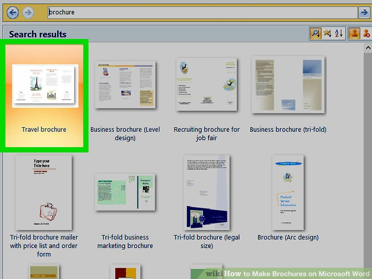 can you make a brochure on microsoft word - Acurlunamedia - mickrosoft word