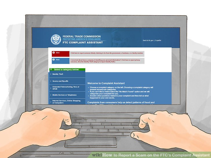How to Report a Scam on the FTC\u0027s Complaint Assistant 8 Steps
