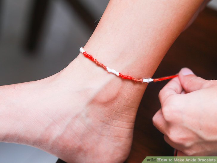 How To Make Ankle Bracelets With Pictures Wikihow