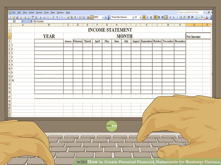 How to Create Personal Financial Statements for Business Owners