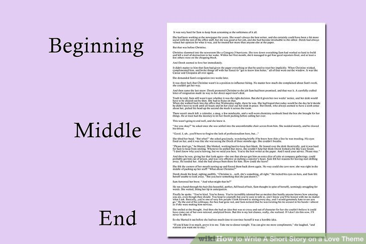 How to Write A Short Story on a Love Theme 11 Steps - how to write a