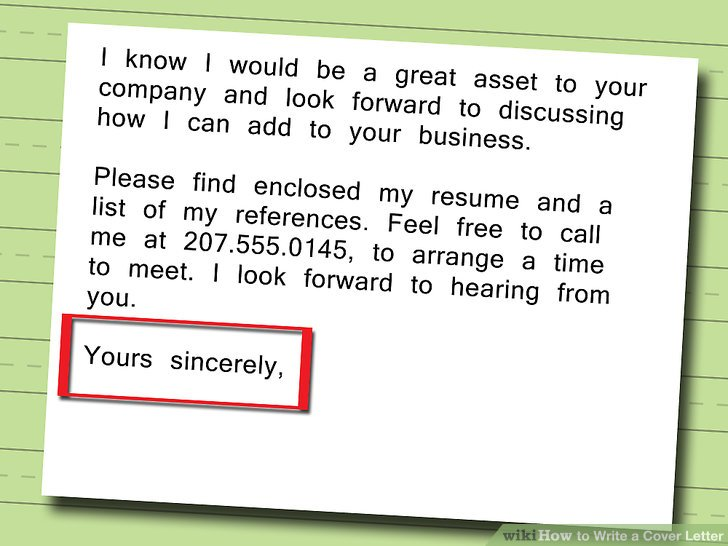 5 Ways to Write a Cover Letter - wikiHow - how to write a business cover letter