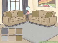 3 Ways to Choose Carpet Color - wikiHow