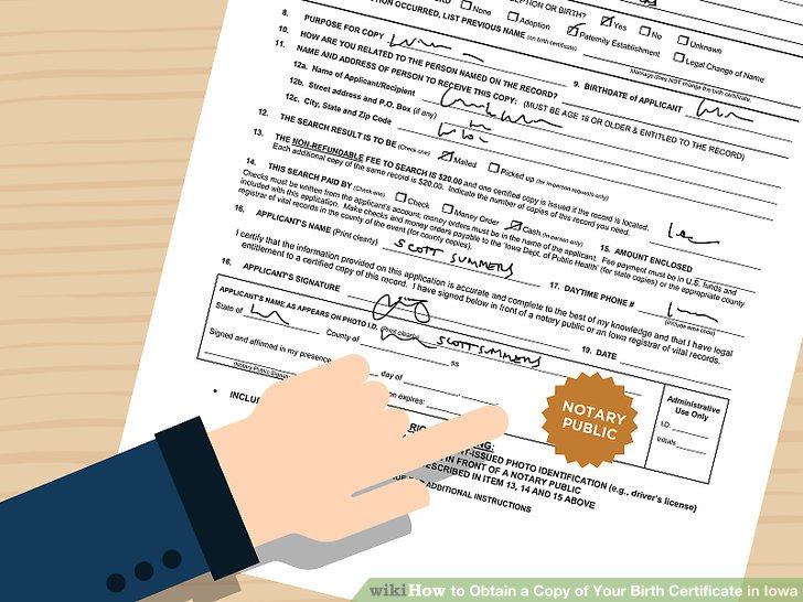 4 Ways to Obtain a Copy of Your Birth Certificate in Iowa - birth certificate