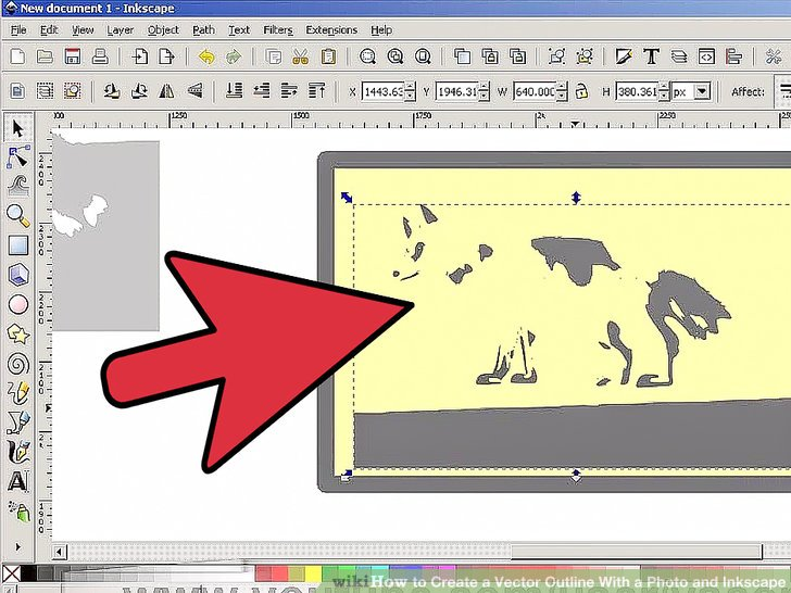 How to Create a Vector Outline With a Photo and Inkscape