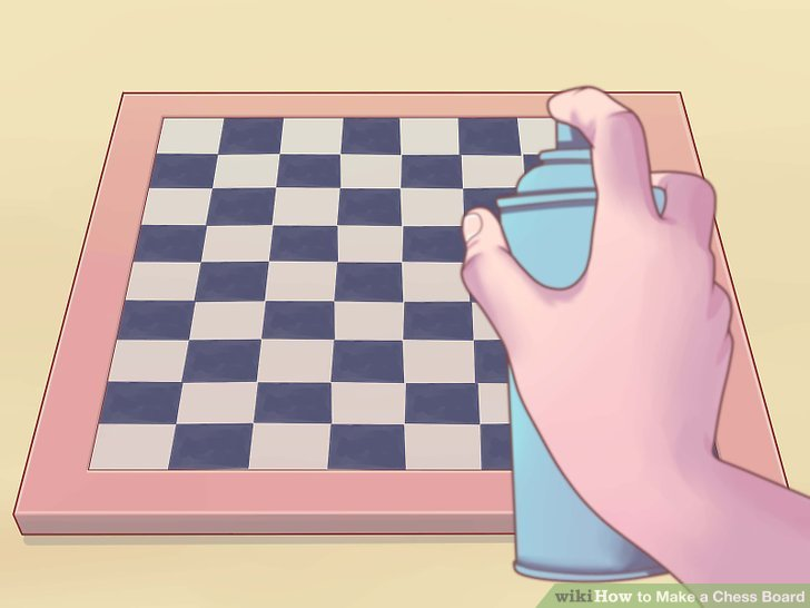 3 Ways to Make a Chess Board - wikiHow