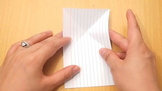How to Make an Origami Jumping Frog from an Index Card 10 Steps - make index card