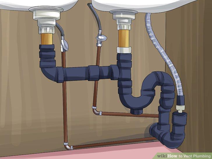3 Ways To Vent Plumbing Wikihow