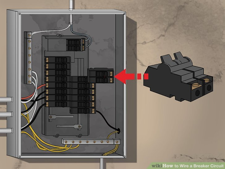How to Wire a Breaker Circuit (with Pictures) - wikiHow