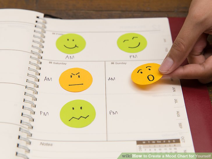 How to Create a Mood Chart for Yourself 8 Steps (with Pictures) - mood chart form