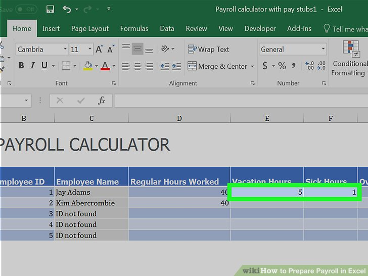Payroll Hours Calculator - Design Templates - easy paycheck calculator