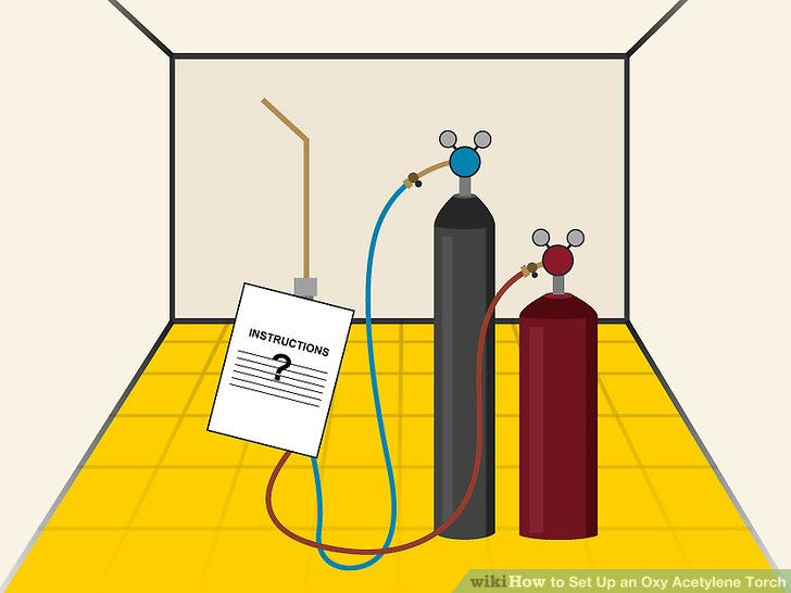 How to Set Up an Oxy Acetylene Torch (with Pictures) - wikiHow