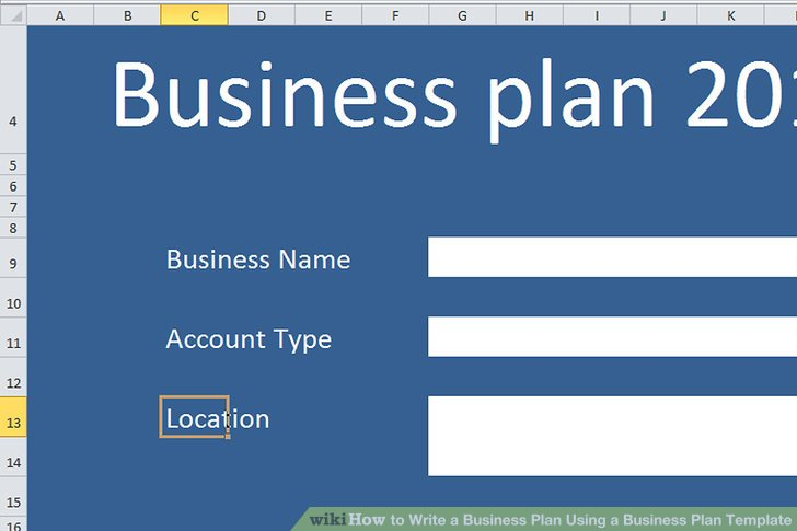 How to Write a Business Plan Using a Business Plan Template