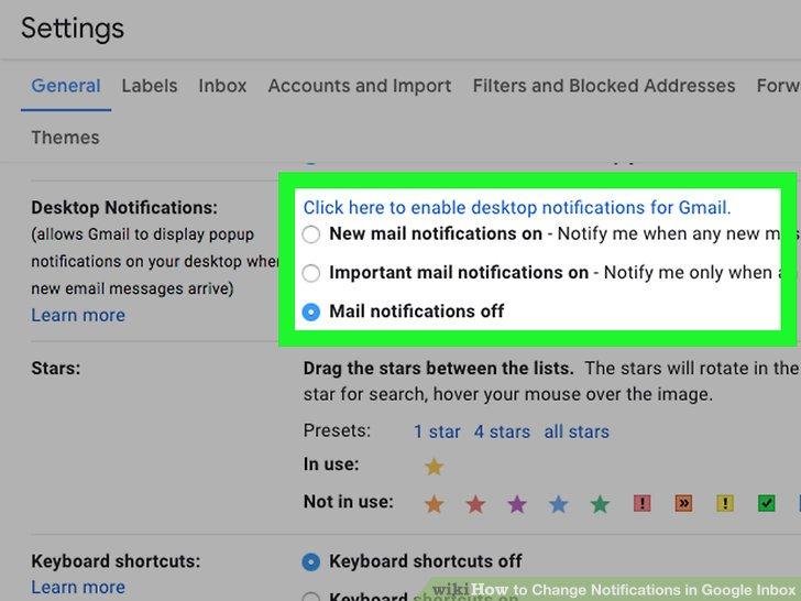 4 Ways to Change Notifications in Google Inbox - wikiHow