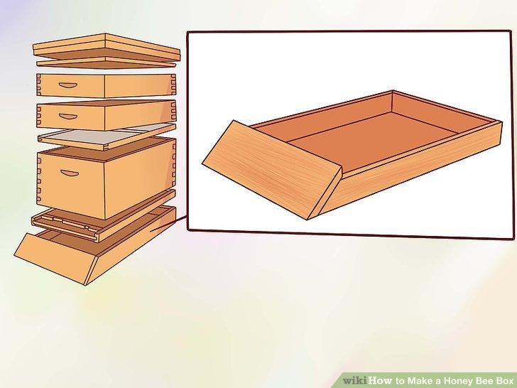 How To Make A Honey Bee Box With Pictures Wikihow