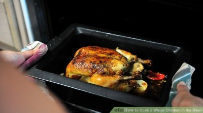 How to Cook a Whole Chicken in the Oven (with Pictures) - wikiHow