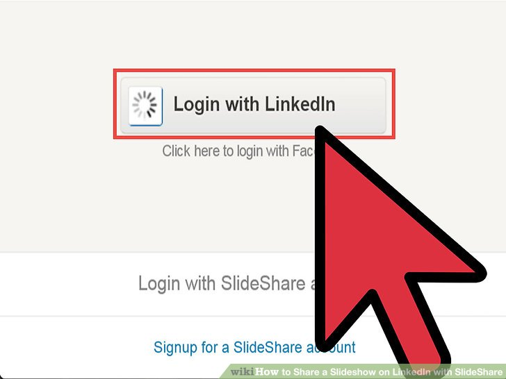 How to Share a Slideshow on LinkedIn with SlideShare 5 Steps