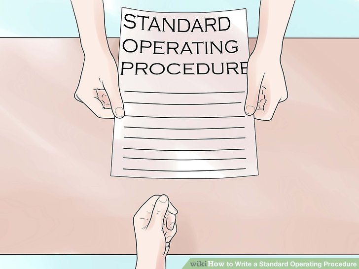 How to Write a Standard Operating Procedure 15 Steps