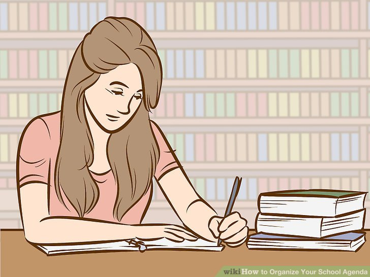How to Organize Your School Agenda (with Pictures) - wikiHow - school agenda