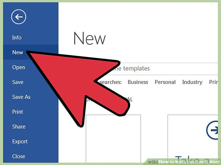 How to Make Invoices in Word 12 Steps (with Pictures) - wikiHow