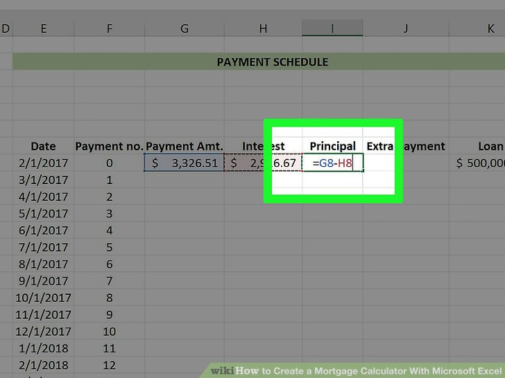 mortgage calculator with principal payments