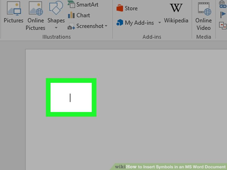 How to Insert Symbols in an MS Word Document 15 Steps - american flag background for word document