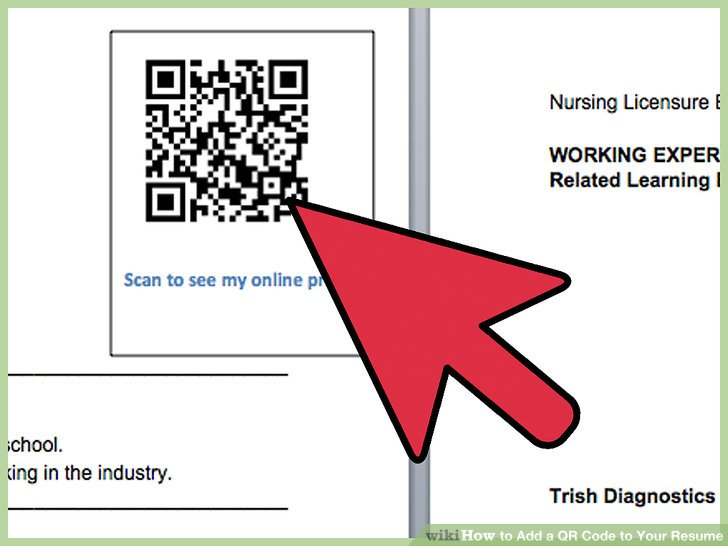 4 Ways to Add a QR Code to Your Resume - wikiHow