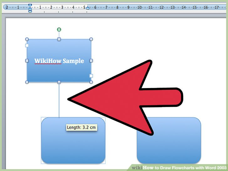 3 Ways to Draw Flowcharts with Word 2003 - wikiHow - flow chart word