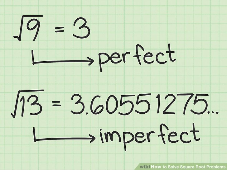 How to Solve Square Root Problems (with Pictures) - wikiHow