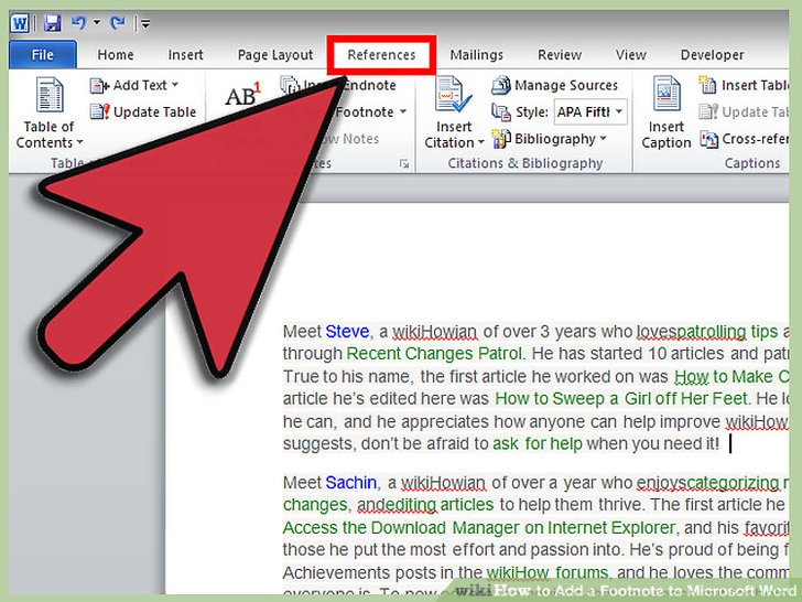 3 Ways to Add a Footnote to Microsoft Word - wikiHow