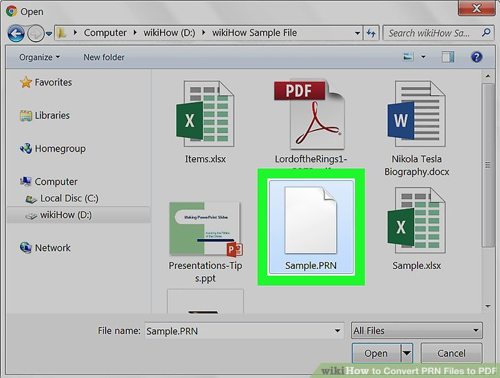 How to Convert PRN Files to PDF 6 Steps (with Pictures) - wikiHow