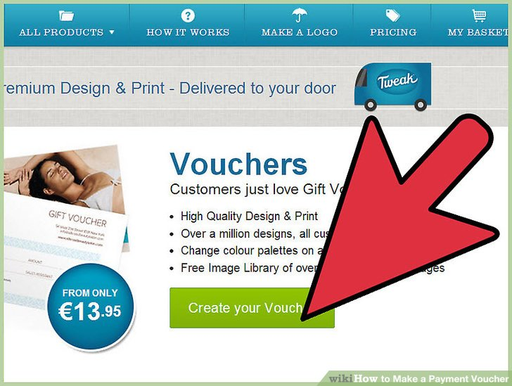 How to Make a Payment Voucher 5 Steps (with Pictures) - wikiHow - create voucher