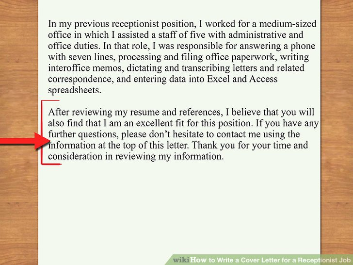 concluding a cover letter