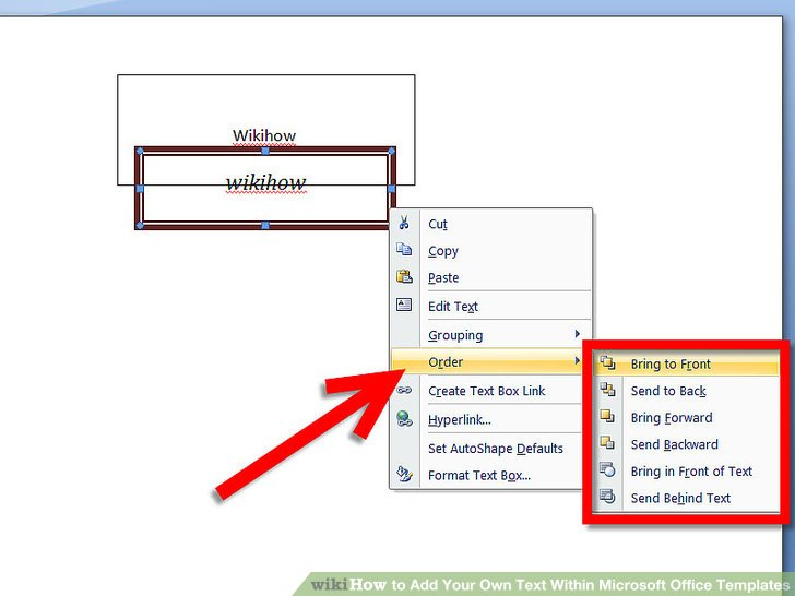 How to Add Your Own Text Within Microsoft Office Templates