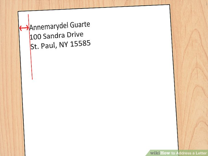 4 Ways to Address a Letter - wikiHow