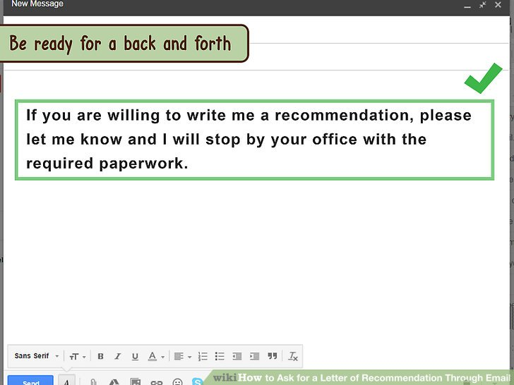 How to Ask for a Letter of Recommendation Through Email 10 Steps