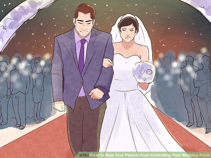 3 Ways to Stop Your Parents from Controlling Your Wedding Plans