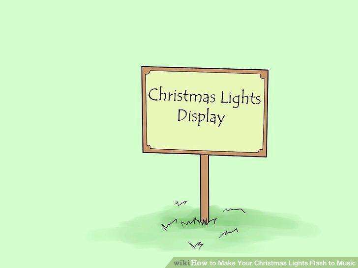 How to Make Your Christmas Lights Flash to Music 12 Steps