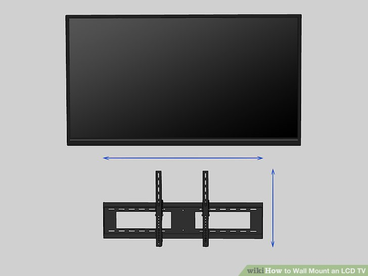 How to Wall Mount an LCD TV 9 Steps (with Pictures) - wikiHow
